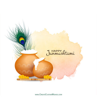 FREE Create Your Own Janmashtami eCard