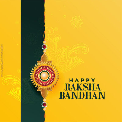 Greeting Card for Happy Raksha Bandhan 2020