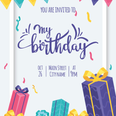 Create Custom Birthday Invitation Card