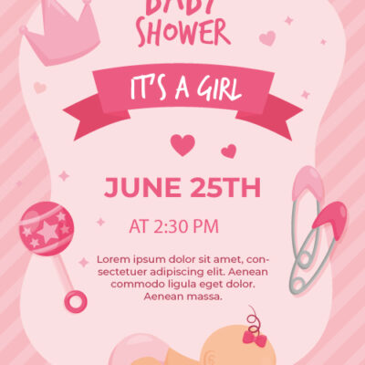 Free Baby Shower Invitation Card Maker