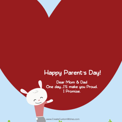 Parent's Day Image with Name and Photo