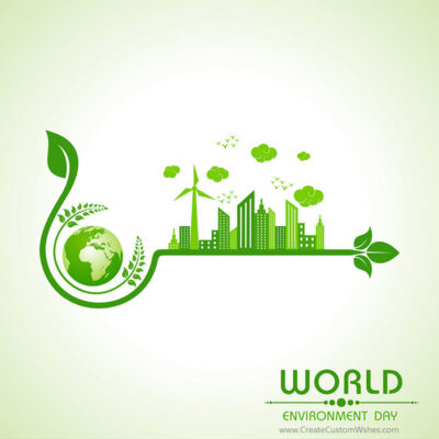 Personalized World Environment Day Image