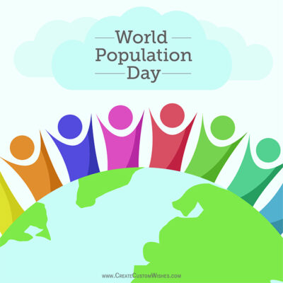 Create Custom Population Day eCard
