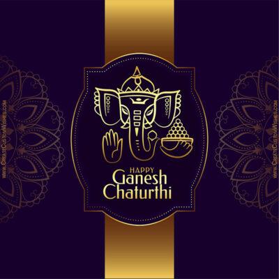 Free Customized Ganeshotsav Greeting Card