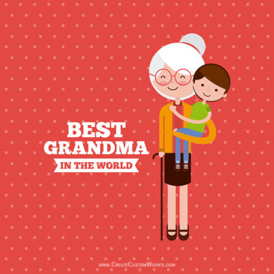 Best Grandma & Grandpa Image with Name