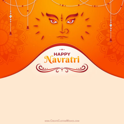 Create Navratri Image for Status