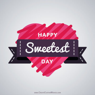 Sweetest American Day Greeting Card