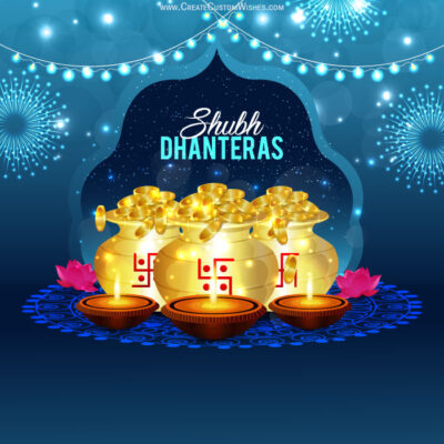 Dhanteras 2020 Wishes Wallpaper & Design