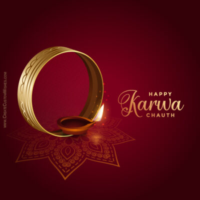 Edit Karwa Chauth Image, Photos, Messages
