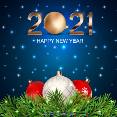 Free 2021 New Year Image Maker Tools Online