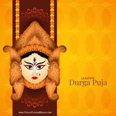 Greeting Cards for Happy Durga Puja 2021