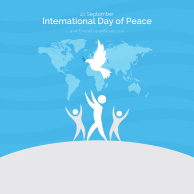 International Day of Peace with Name