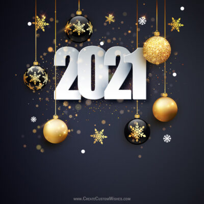 Personalise Happy New Year Design Photos