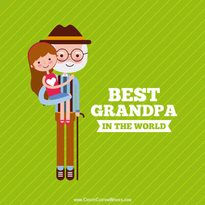 Personalize Grandparents Day eCard