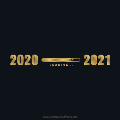 Write Your Thoughts on New Year 2020-2021 Pic