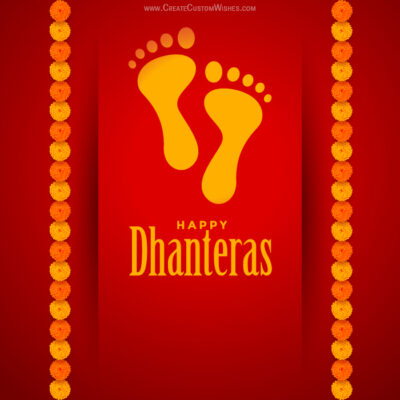 Create Dhanteras 2020 Image for Business