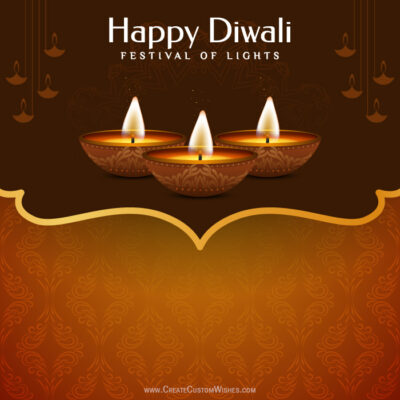 Create Diwali Wishes Image for Business