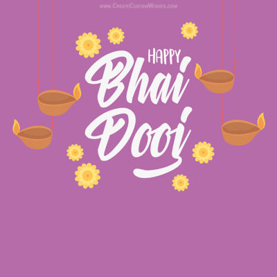 Create Happy Bhai Dooj eCard for Company