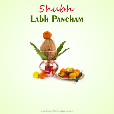 Create Labh Pancham Image for Business