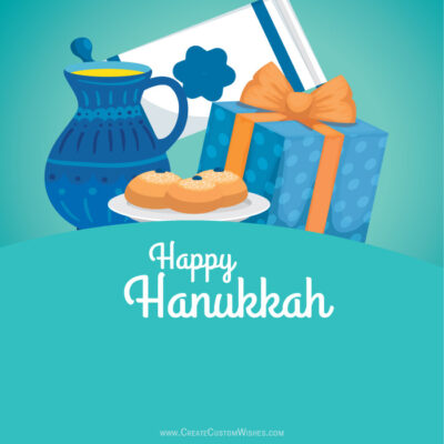 Create a Hanukkah Wishes Image for Business