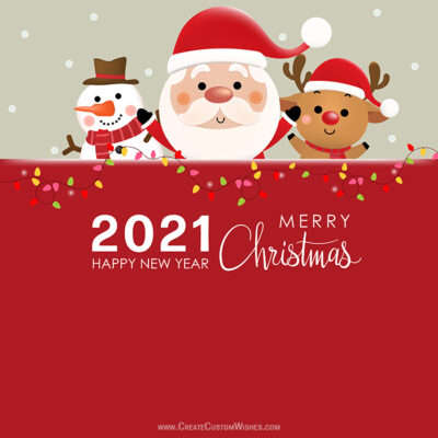 Editable Christmas Wishes Templates & Design