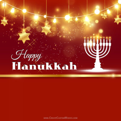 Editable Hanukkah Festival of Lights eCards