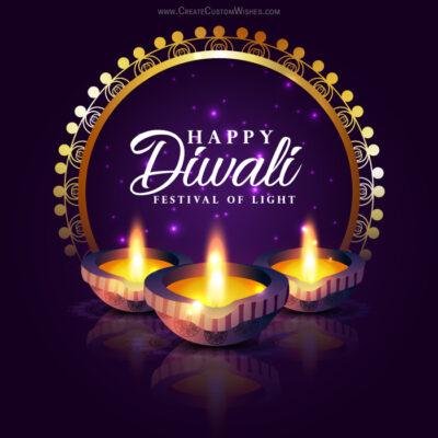 Free Personalise Diwali 2020 Card Online
