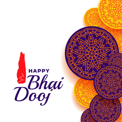Greeting Card for Happy Bhai Dooj 2020