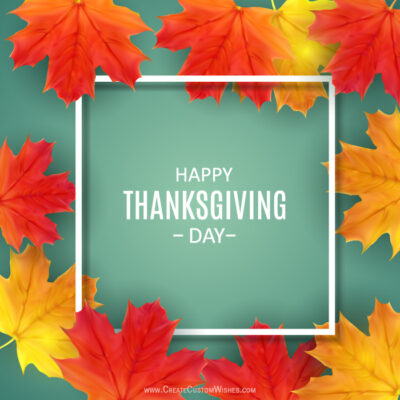 Happy Thanksgiving 2021 Wishes, Images, SMS