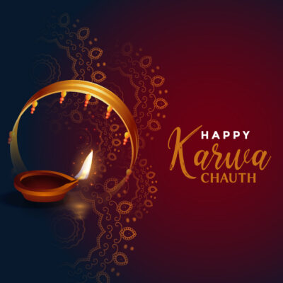 Karwa Chauth 2021 Wishes Image for wifely