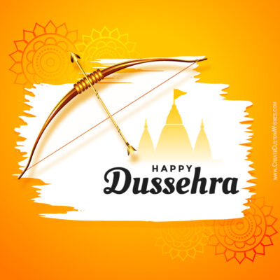 Make a Dussehra Greeting Card for Company