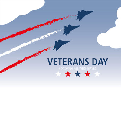 Make Veterans Day Wishes Image for Company