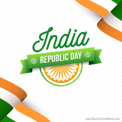 Add Name & Photo on Republic Day Image