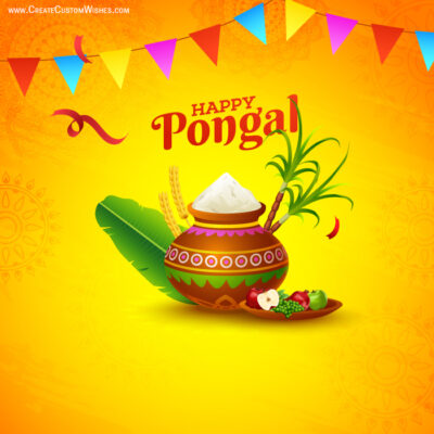 Create Happy Pongal Wishes for Business