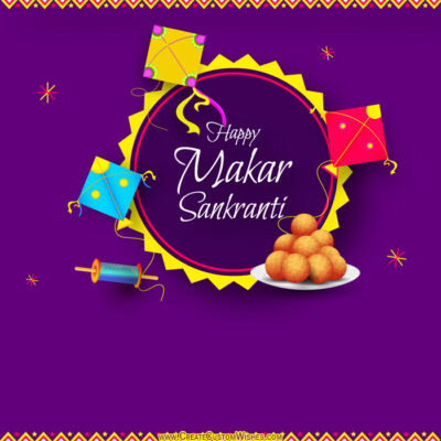 Create Makar Sankranti Wishes for Business