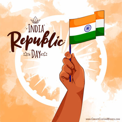 Create Republic Day with Name Image FREE
