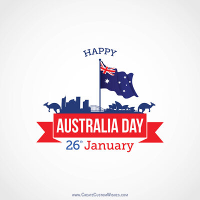 Make 26 Jan - Australia Day Card for Company