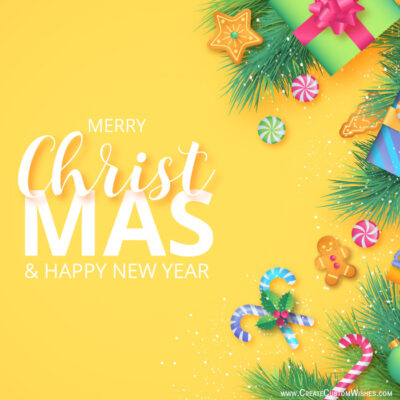 Personalize Christmas Greeting for Company