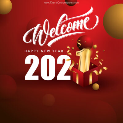 Welcome 2021: Create card for Business