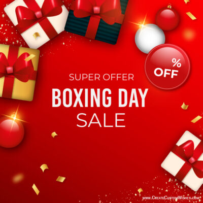 Boxing Day Wishes Images, Messages