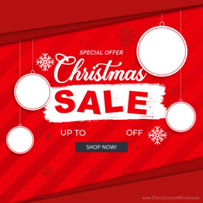 Create Banner for Christmas Sale FREE