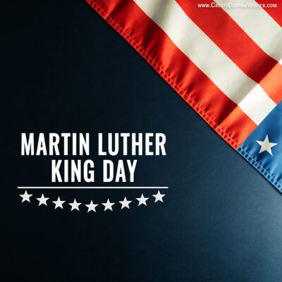 Create Martin Luther King Day Image FREE
