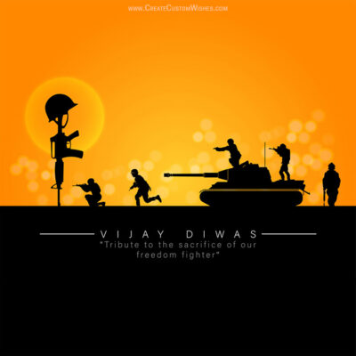 Create Vijay Diwas Wishes for Business