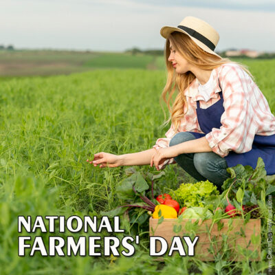 Customize Farmers Day Greeting Card