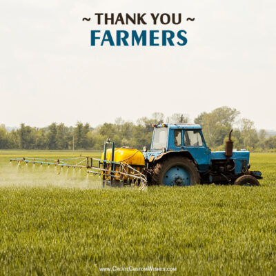 Edit Thank you Farmers Wishes Image