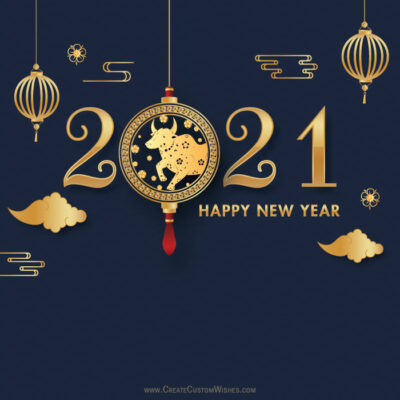 Happy Chinese New Year Greetings 2021