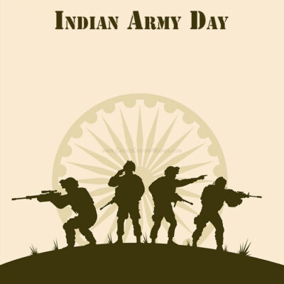 Indian Army Day Wishes Card Creator FREE!