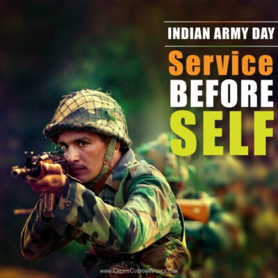 Indian Army Day Wishes Images & Messages