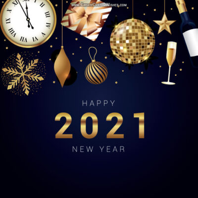 New Year's Eve 2021 Wishes Image