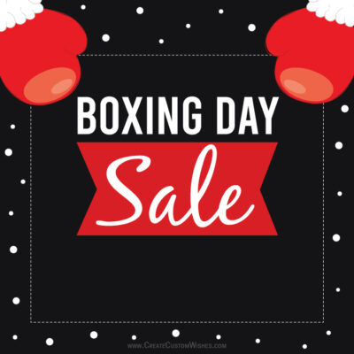 Templates for Biggest Boxing Day Sale